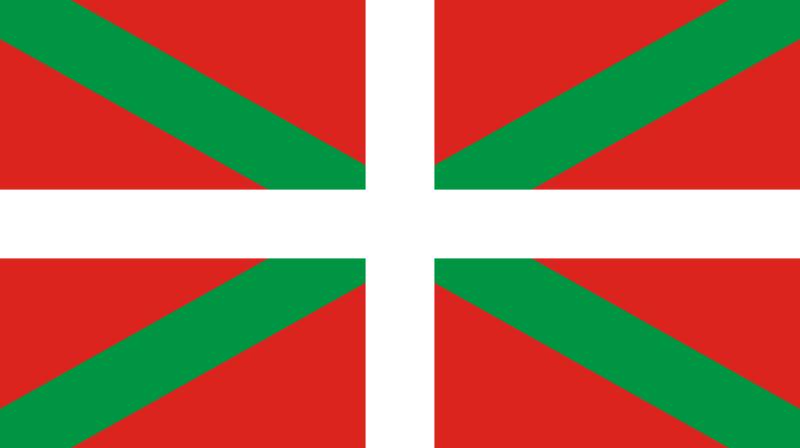le Drapeau Basque ou Ikurriña