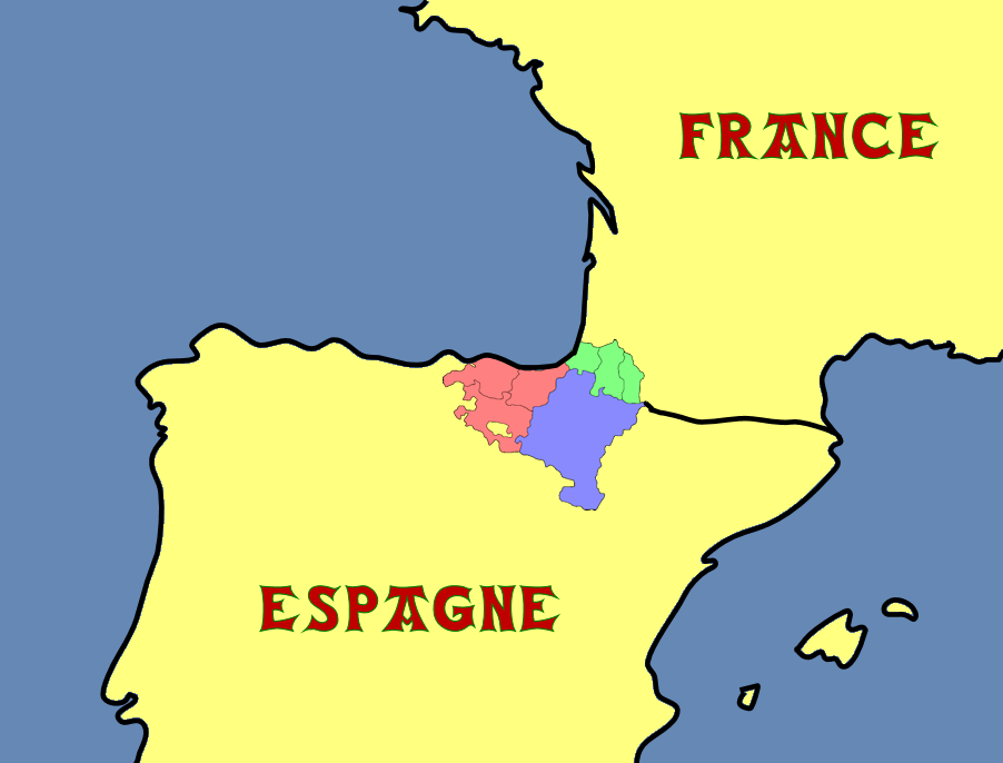 """Résultat de recherche d'images pour """"carte pays basque"""""""